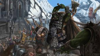 Nature warhammer artwork wallpaper