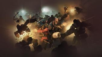 Robots team fortress 2 mann vs machine wallpaper