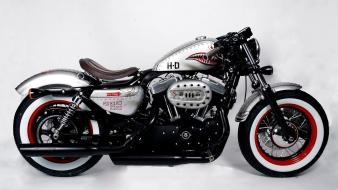 Rod classic motorbikes 50s style harley davidson Wallpaper