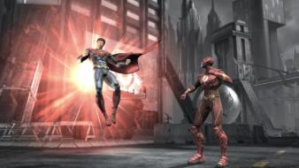 Superman flash comic hero wallpaper