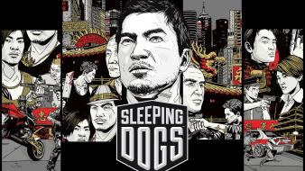 Video games sleeping dogs Wallpaper