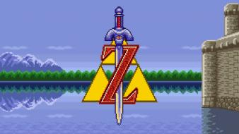 Video games zelda the legend of 16-bit Wallpaper