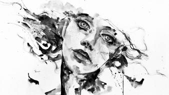 Women paintings swallow agnes cecile wallpaper
