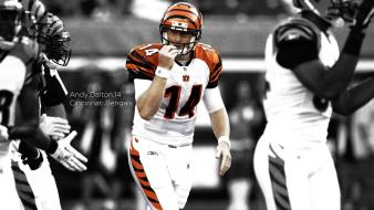 American football cincinnati selective coloring bengals andy dalton wallpaper