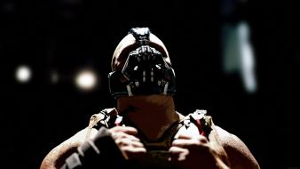 Batman superheroes bane the dark knight rises wallpaper