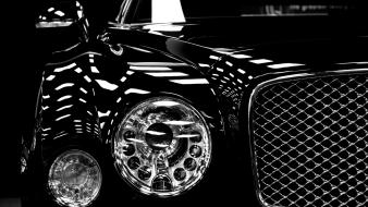 Black and white cars bentley mulsanne wallpaper