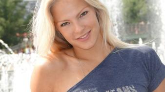 Blondes sports russia darya klishina russians Wallpaper