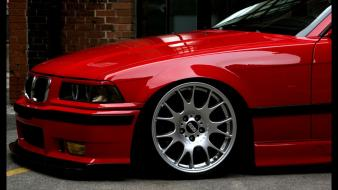 Bmw red e36 wallpaper