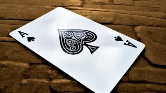 Cards ace of spades wallpaper