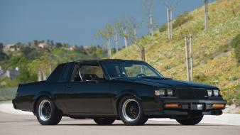 Cars buick black gnx muscle car Wallpaper