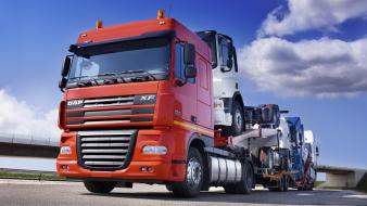Cars trucks 18 wheeler wallpaper