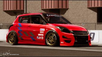Cars tuning 3d suzuki swift wallpaper