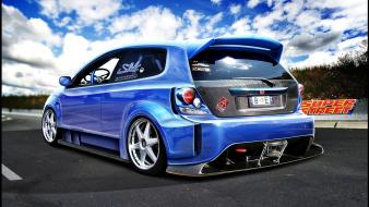 Cars tuning honda civic 3d si wallpaper