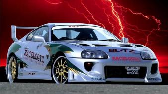 Cars tuning toyota supra 3d wallpaper