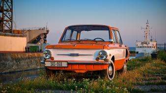 Cars zaz old ukrainian wallpaper