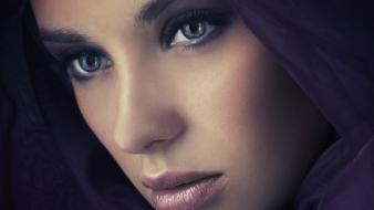 Close-up faces arab Wallpaper