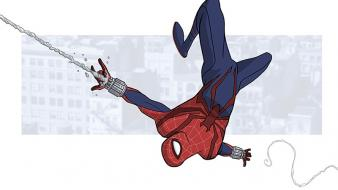 Comics spider-man superheroes marvel peter parker fan art wallpaper