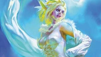 Comics x-men white queen marvel emma frost wallpaper
