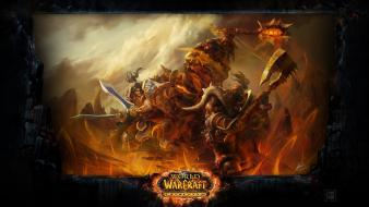 Deathwing blizzard entertainment garrosh hellscream varian wrynn wallpaper