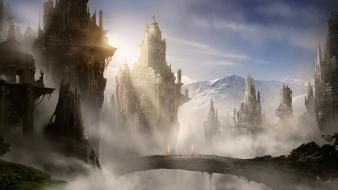 Fantasy landscape alex ruiz wallpaper