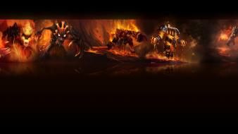 Fire league of legends wallpaper