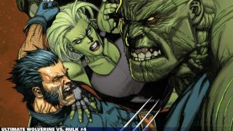 Hulk (comic character) comics wolverine she marvel wallpaper