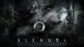 Legend blender digital art apocalyptic photomanipulation wallpaper