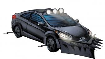 Machine survival apocalyptic white background hyundai elantra wallpaper