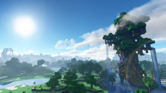 Minecraft mana wallpaper
