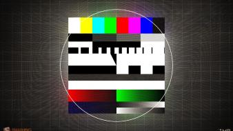 Multicolor grid television test pattern smashing magazine channel wallpaper