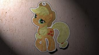 My little pony sticker applejack Wallpaper