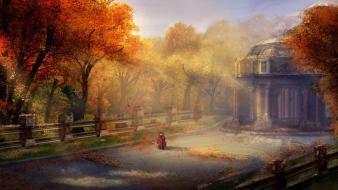 Nature autumn (season) artwork master piece wallpaper