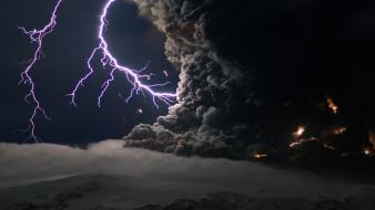 Nature lightning apocalyptic Wallpaper