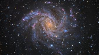 Outer space stars galaxies nasa hubble wallpaper