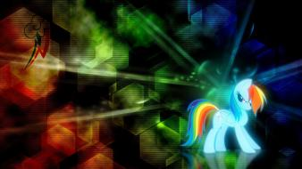 Pony rainbow dash pony: friendship is magic wallpaper