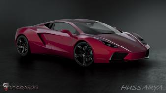 Red cars polish vehicles supercars arrinera hussarya wallpaper