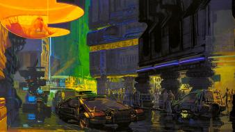 Runner people concept art artwork syd mead wallpaper