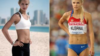 Russia athletes darya klishina wallpaper