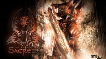 Sacred shadow warrior wallpaper