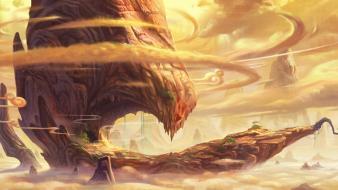 Sand desert fantasy art artwork game wallpaper