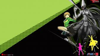 Shorts persona 4 tomoe watermark satonaka chie Wallpaper