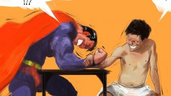 Superman funny fun vietnamese it wallpaper