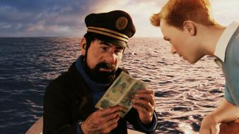 Tintin 3d the adventures of captain haddock wallpaper