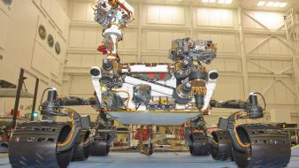 Vehicles low-angle shot rover curiosity vehicle science wallpaper