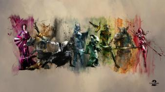 Video games guild wars artwork 2 wallpaper