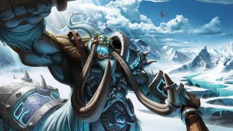 Video games world of warcraft blizzard entertainment magnataur wallpaper