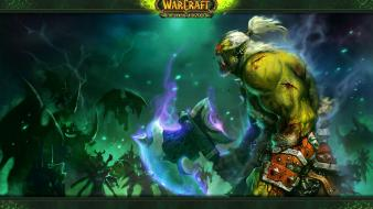 Video games world of warcraft blizzard entertainment orc Wallpaper