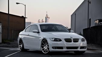 White cars wheels automotive automobiles bmw m3 e92 Wallpaper