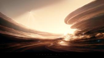 Abstract landscapes apocalyptic greg martin wallpaper