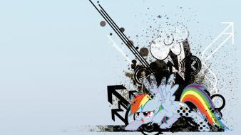 Abstract my little pony rainbow dash wallpaper
